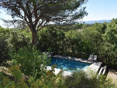 Photo for Villa Champeau, Luberon, swimming pool and anthenticity