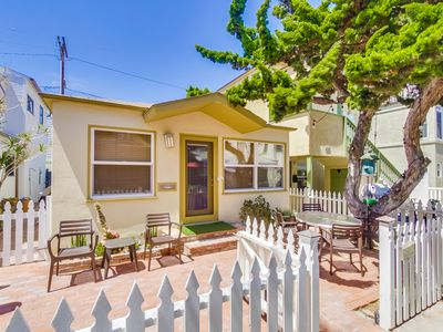 Photo for 1-Level  North Mission Beach Cottage, Private Patio!