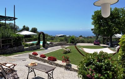 Photo for Villa on the Amalfi Coast with sea view and private swimming pool