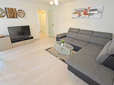 Photo for Modern and spacious 2-room comfort apartment in the spa area