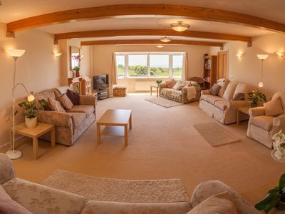 Spacious main Sitting Room - perfect for spending time together in comfort
