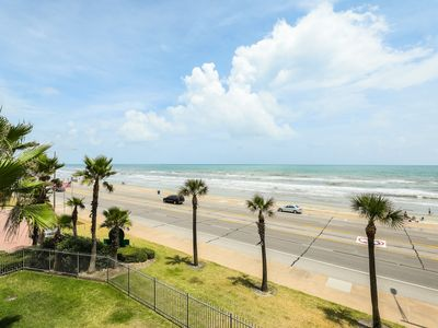 Photo for Oceanfront condo w/ shared pool & hot tub, Gulf views, and private balcony