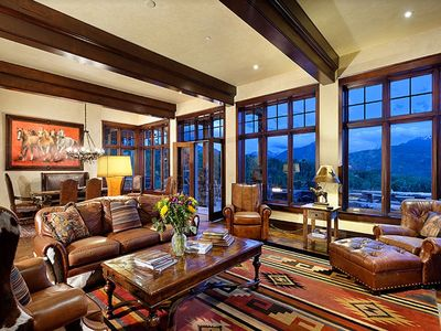Photo for Aspen Luxury Estate, Private, Top-Of-The-World-Views. Equestrian Facilities avai