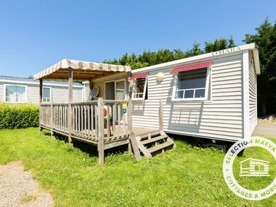 Photo for Camping Les Alizés *** - Maeva Camping - Mobil Home Grand Confort 3 Rooms 4/6 People