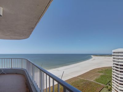 Photo for Beautiful Beach Front Condo, Located at the much-requested Royal Seafarer Condo.