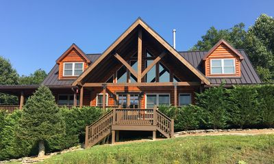 Photo for 1 Appalachian Sky  - Beautiful home, amazing views, pool table, theater room!