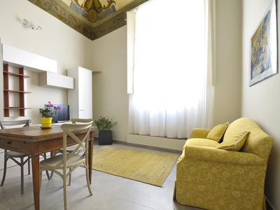 Photo for Belle Arti B apartment in Bologna with WiFi & integrated air conditioning.