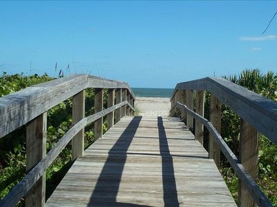 Photo for Beautiful Beach Side Cape Canaveral Condo- Ocean Front!! Steps from beach!