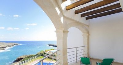 Photo for 4 bedroom Villa, sleeps 8 in Cala Egos with Air Con and WiFi