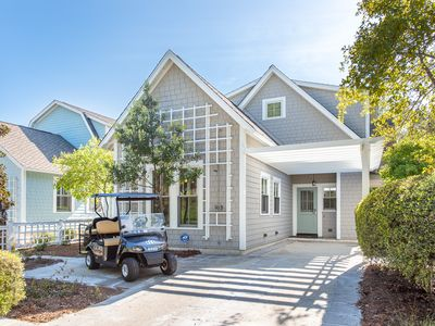 Photo for Convenient location! Golf Cart! Charming WaterSound Cottage!