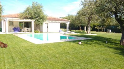 Photo for Fantastic private villa with swimming pool