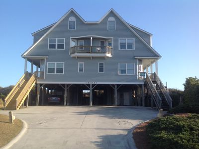 Photo for 5 BR OCEANFRONT Duplex with gorgeous views!  Remodeled kitchen and bathrooms!