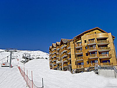 Photo for One bedroom Apartment, sleeps 6 in Les Estaris with Pool