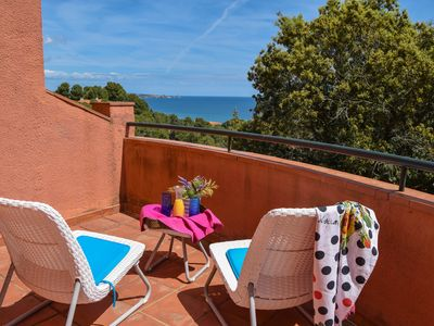 Photo for C-24-Small townhouse  located 800 m. from the beach.Comunal Pool and garden.