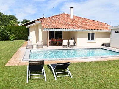 Photo for Recent villa (****) with nice amenities, swimming pool - quiet situation