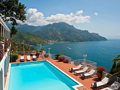 Photo for Villa Lamu is a luxury property in Amalfi Coast, with amazing views, private pool, air conditioning,