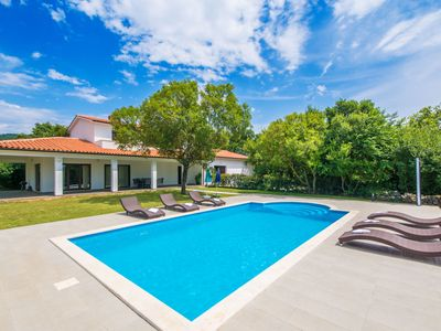 Photo for Quiet and secluded, minutes from the beach, private pool