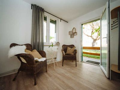 Photo for Coach house 2-pers.Apartment with private garden access - Apartmenthaus Kaiser Friedrich