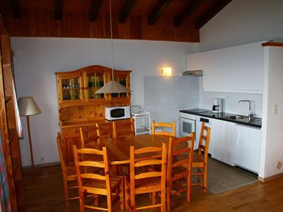 Photo for 2-bedroom apartment 3* for 4-8 people situated at about 900m from the gondola lift at a quiet and su