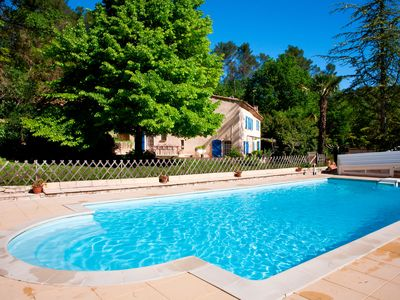 Photo for Bastide in Salernes in an area of 4 ha with heated pool and tennis