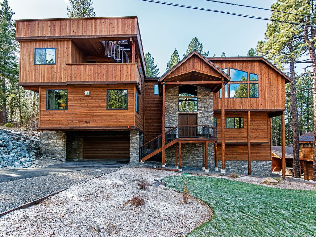 youtube tour cabin luxury famous tahoe lake home south watch video cabins in