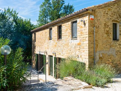 Photo for Villa Carina is a converted farmhouse set in about a hectare of gardens, orchard and woods.