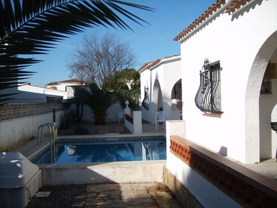 Photo for Up to 5 persons, pool for 2 houses, cars can be parked in the plot
