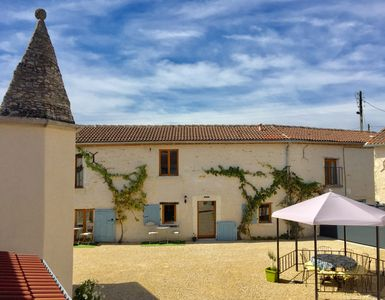 Photo for Collection of boutique cottages around a courtyard with pool & garden, sleeps 17