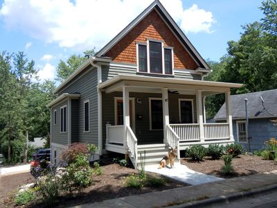 Photo for Walk 2 blocks to Downtown From Green Certified Home In Montford Neighborhood