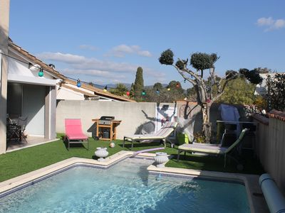 Photo for NICE VILLA SWIMMING POOL AND KITCHEN D ETE EQUIPEE