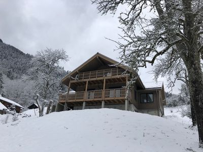 Photo for Beautiful 4 bedroom chalet in the heart of the Portes du Soleil, France