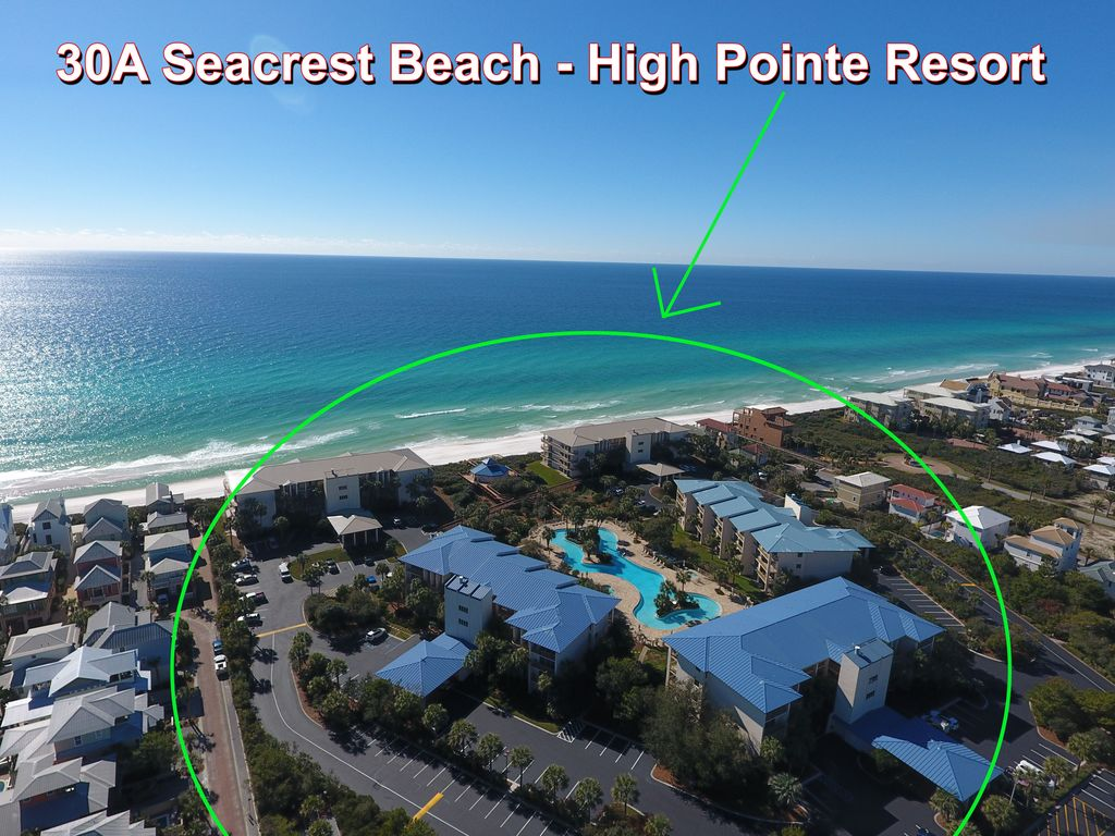 High Pointe 124 Seacrest Beach Fl Vacation Al W Pool View