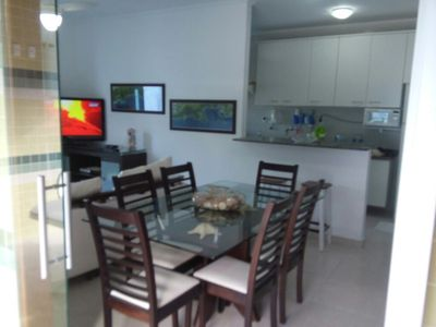 Photo for DUPLEX COVERAGE ON CANTO PRAIA GRANDE 120 mts FROM THE BEST POINT OF THE BEACH