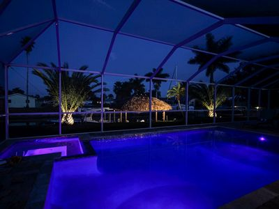 Photo for Majestic Palms - Pool/Spa Tiki Dock - Cape Coral