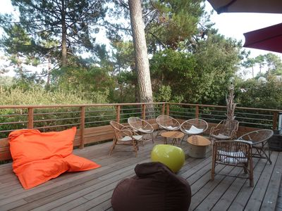 Photo for Villa Cap Ferret - Village of Grass - Close to pool and ocean