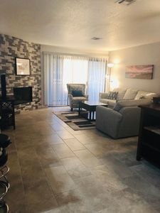 Photo for Newly Remodeled Condo minutes from Strip!  Ground level access, no stairs!