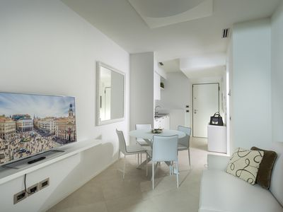 Photo for Embassy Aparthotel - Two-room apartment with terrace for 2/4 people