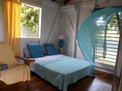 Photo for Gosier Charming bungalow facing the sea