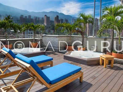 Photo for Luxury Poblado Apartment - Jacuzzi