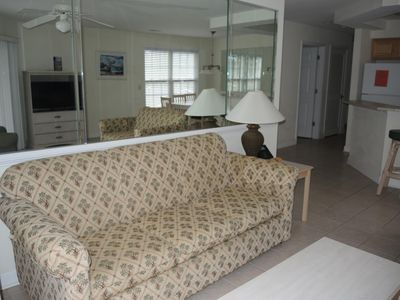 Photo for Excellent 2 Bedroom Condo within walking distance to food, golf, and pool!