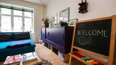 Photo for Colorful & kid-friendly flat in the vibrant neighborhood of Nørrebro