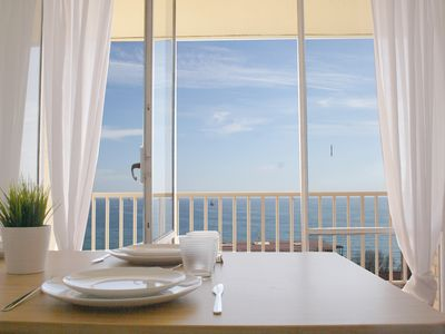 Photo for Central apartment with sea views