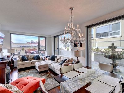 Photo for Downtown Victoria Luxury 1 Bedroom Executive Condo Steps to the Inner Harbour