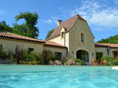 Photo for Le Hibou Heureux - Beautiful Villa for 8 With Private Pool and Barbecue