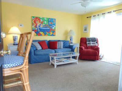 Photo for A16  Ocean Walk Resort One bedroom, one bath overlooking the front pool. Upstairs slees 6.