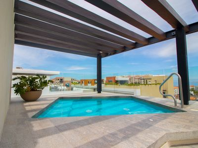 """Photo for Condo """"Zenith 508"""", Pool With Ocean Views in Romantic Zone!"""