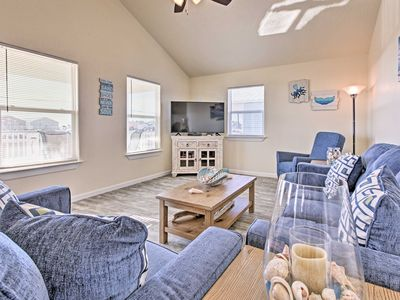 Photo for Surfside Beach House w/Deck- Steps from the Gulf!