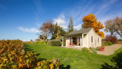 Photo for Seaside Vineyard Cottage with Stunning Views