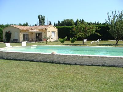 Photo for Provencal country house with pool Pernes Les Fontaines