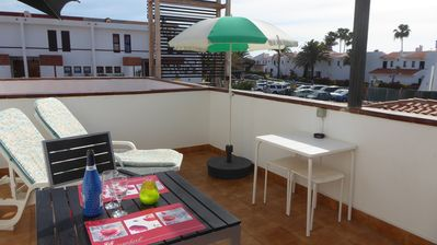Photo for Central Position close to Beach, Spacious Sunny Balcony, Heated Communal Pool